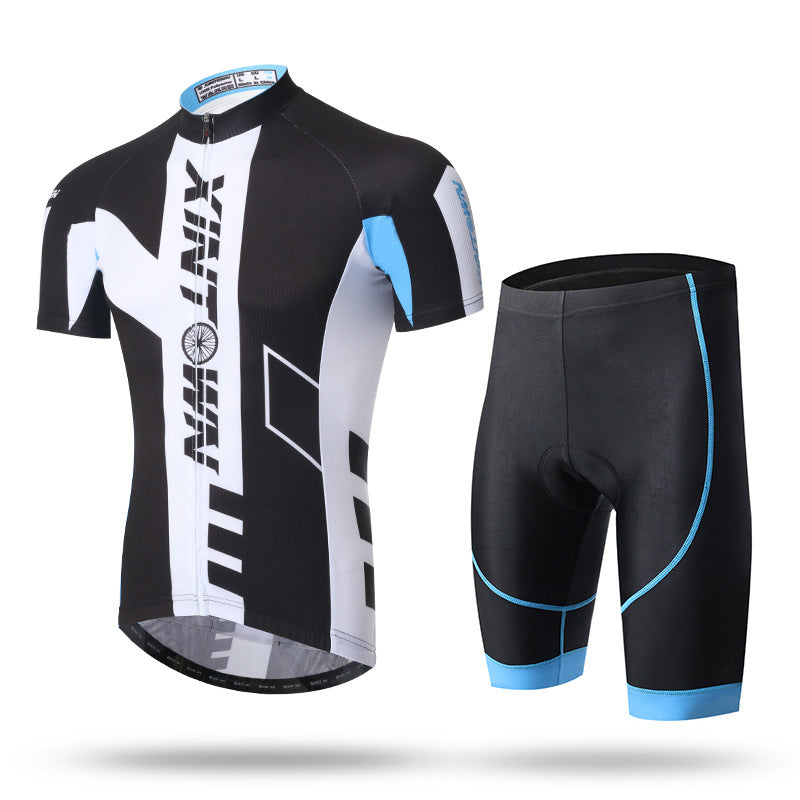Summer Short-Sleeve Suit Men'S Cycling Suits