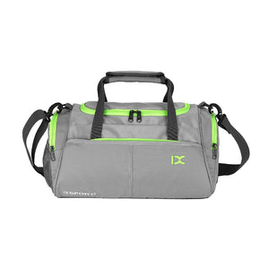 18L Gym Bag Waterproof Separate Space For Shoes Travel Shoulder Bag Handbag