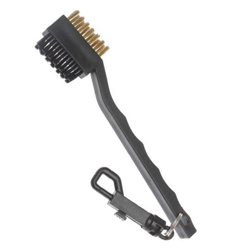 Golf Club Brush Golf Groove Cleaning Brush 2 Sided