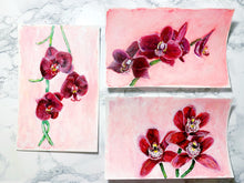 Load image into Gallery viewer, Family Floral Orchid Original Painting - Tish