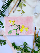Load image into Gallery viewer, Family Floral Orchid Original Painting - Aurestela