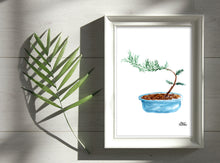 Load image into Gallery viewer, Watercolor Plant Print - Bonsai