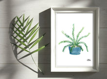 Load image into Gallery viewer, Watercolor Plant Print - Boston Fern
