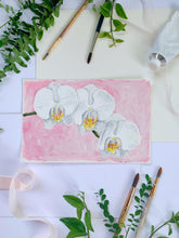 Load image into Gallery viewer, Family Floral Orchid Original Painting - Danielle