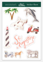 Load image into Gallery viewer, Sticker Sheet - Saint Augustine