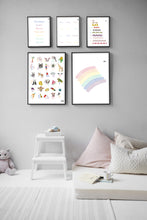 Load image into Gallery viewer, Spanish Rainbow Print