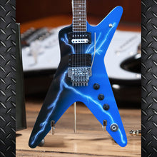 Load image into Gallery viewer, Licensed Dean Dimebag Darrell FROM HELL Lightning Bolt Mini Guitar Model