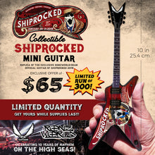 Load image into Gallery viewer, Official ShipRocked Rocket ML Mini Guitar Model