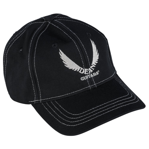 Dean White Logo Black Hat