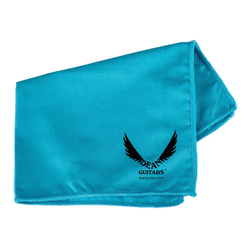 Dean Logo Polish Cloth Blue 12x16