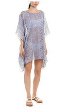 Load image into Gallery viewer, blue aztec swim coverup