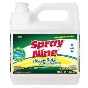 Spray Nine® Heavy Duty Cleaner, Degreaser, Disinfectant - 1 Gallon - 1 Case