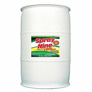 Spray Nine® Heavy Duty Cleaner, Degreaser, Disinfectant - 55 Gallon