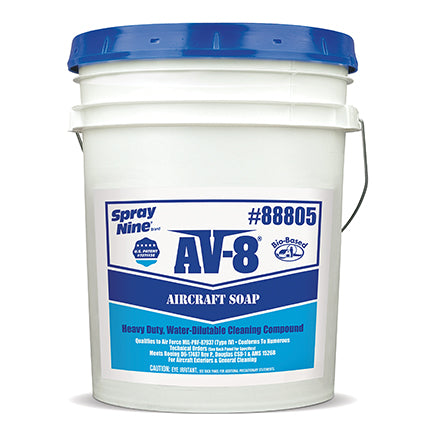 AV-8 Aircraft Soap - 5 Gallon