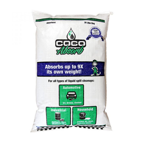 CocoAbsorb™ Spill Absorbent - 35 Liter