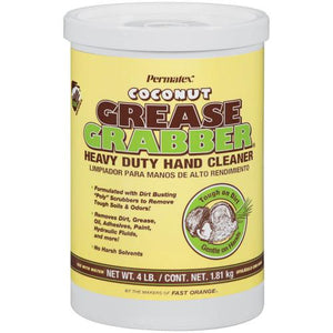 Permatex® Grease Grabber® Heavy Duty Hand Cleaner - Coconut - 4 lb. - 1 Tub