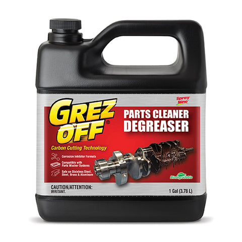Grez-Off Parts Cleaner Degreaser - 1 Gallon