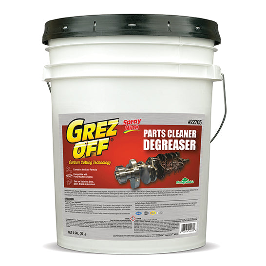 Grez Off Parts Cleaner Degreaser 5 Gallon Knight Products