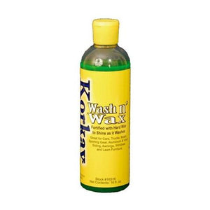 Korkay® Wash and Wax - 16 oz. - 1 Bottle