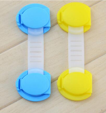 New Cabinet Door Drawers Refrigerator Toilet Lengthened Bendy Safety Plastic Locks For Child Kid Baby Safety