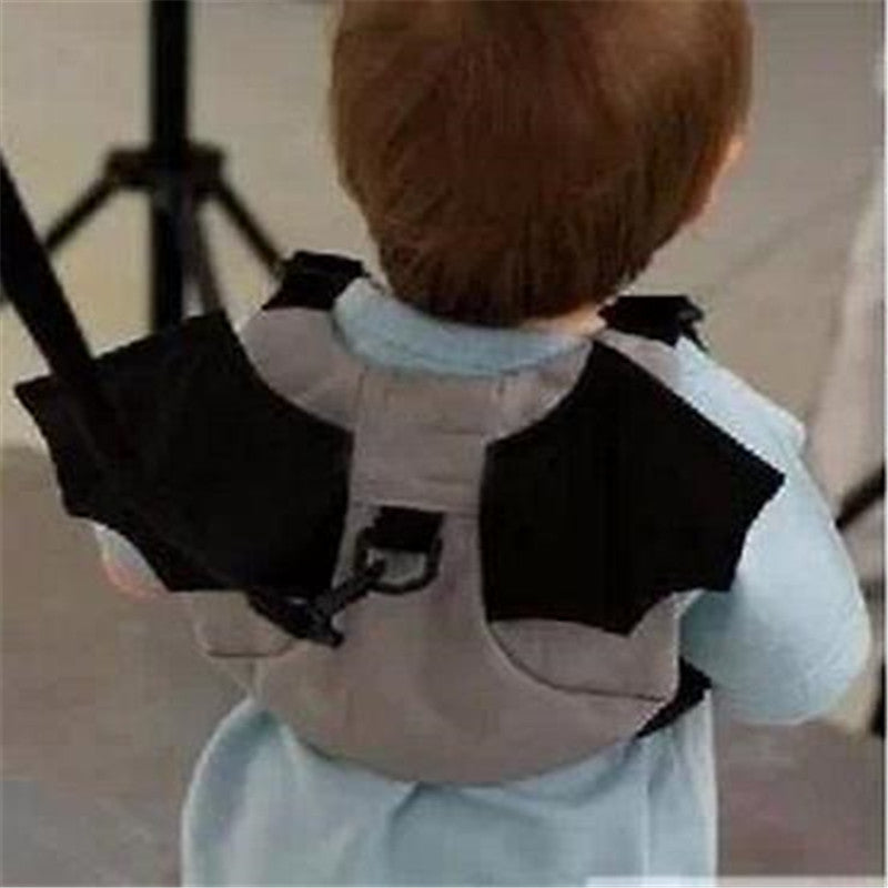 Baby Kid Keeper Toddler Walking Safety Harness Backpack Bag Strap Rein Bat-P101