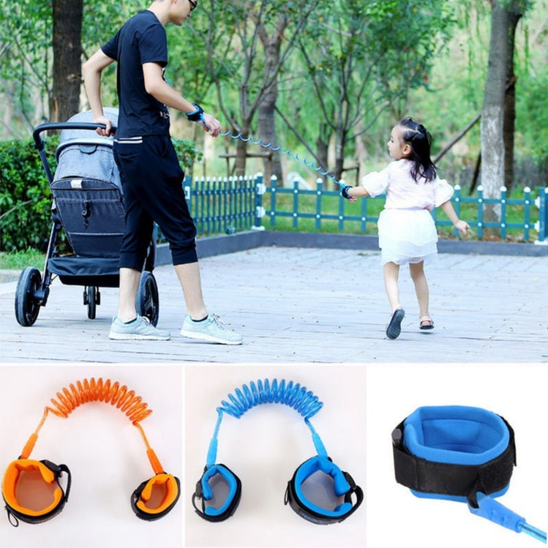 2017 Toddler Baby Kids Safety Walking Harness Child Leash Anti Lost Wrist Link Traction Rope 1.5m 2m 2.5m