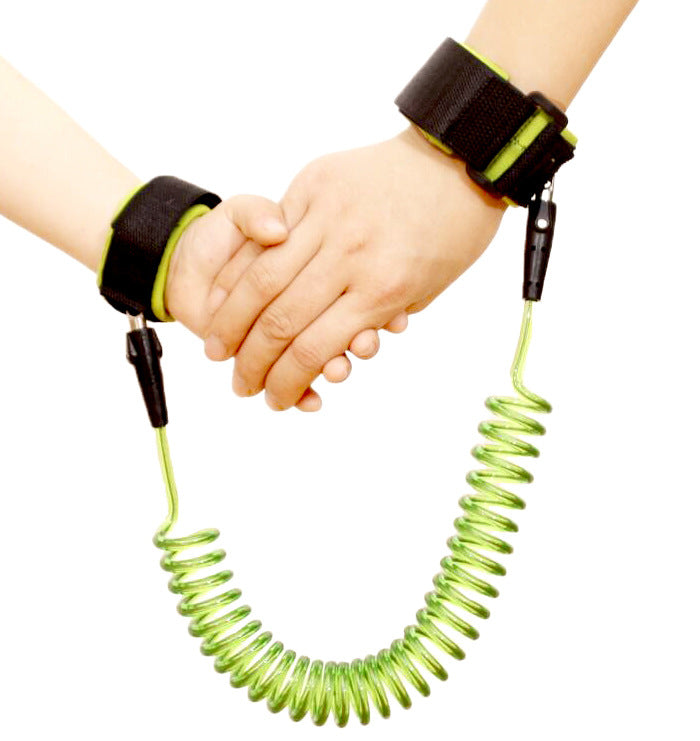 Toddler Baby Kids Safety Harness Child Leash Anti Lost Wrist Link Traction Rope 4 colors