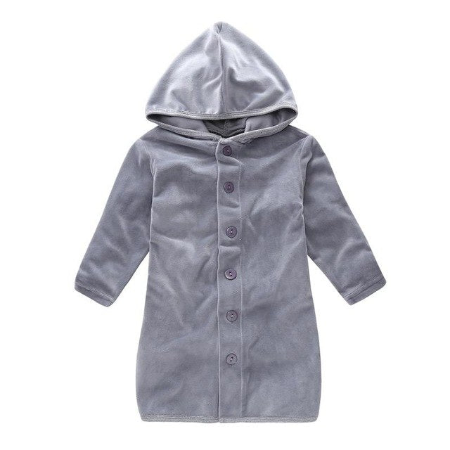 winter warm pijamas kids Baby boys girls robe Fleece bath robes children clothing cartoon Bathrobe pijamas cloak nightgown