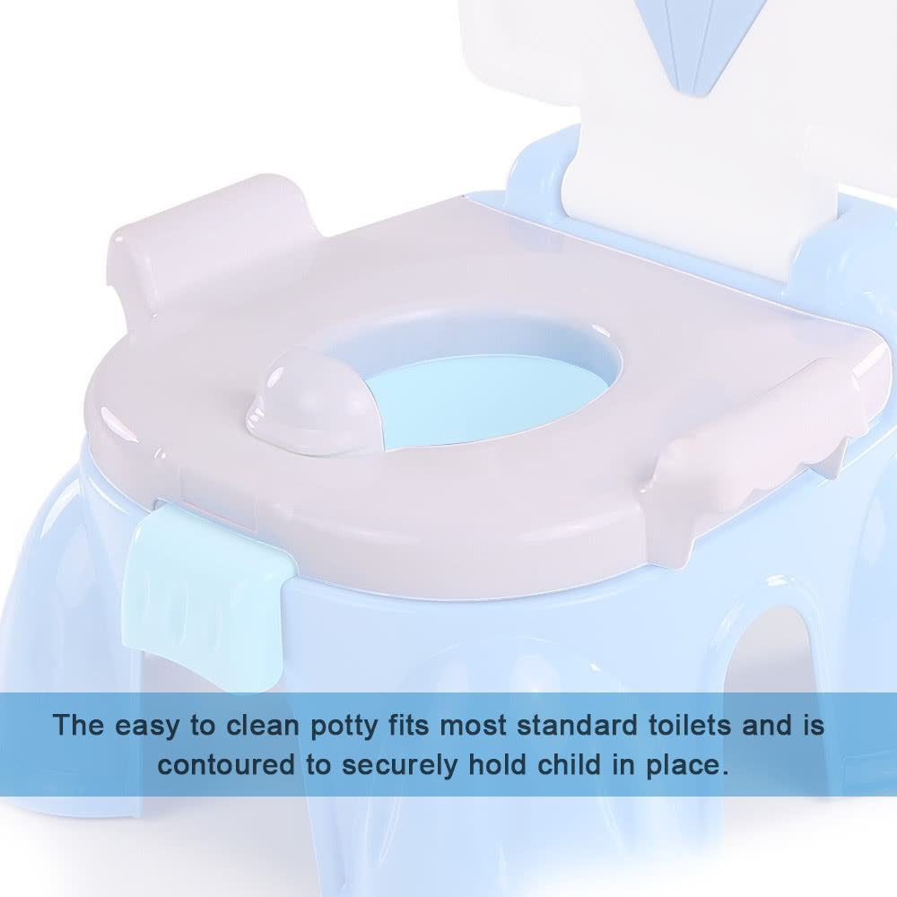 Comfortable Baby Potty Seat Unisex Children's Toilet Seat Baby Toilet Pad Sitting Toilet Cushion