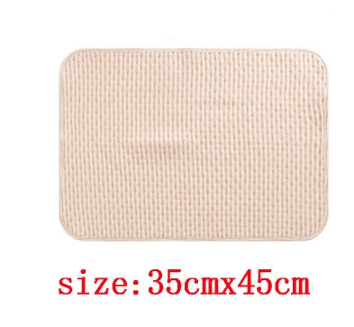 3 Size 100% Cotton Newborn Infant Waterproof Changing Cover Breathable Mat Baby Diaper Urine Pad