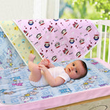 New Waterproof Mattress 3 Color Pad Baby Diaper Changing Pads Newborn Baby Nappy Reusable Washable Mat S/M Size 1 Pcs