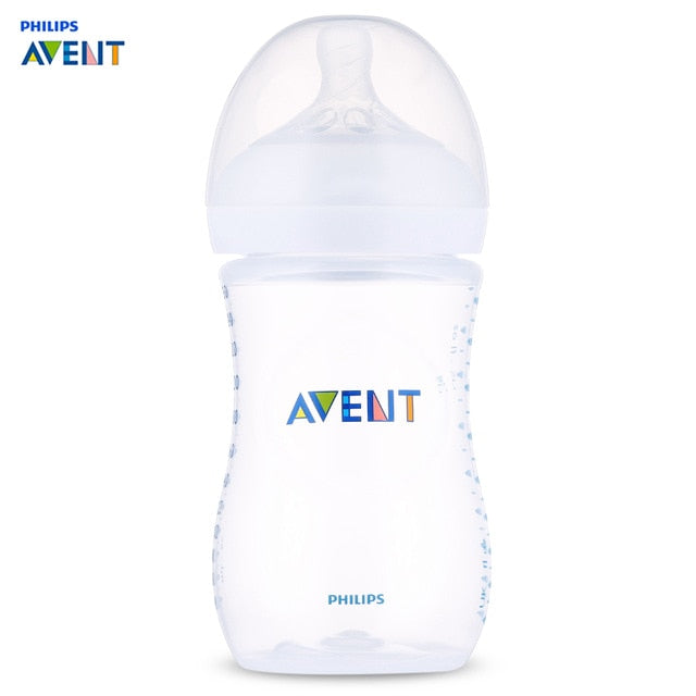 Philips Avent 9oz/260ml Wide Mouth Anti-Colic Baby Bottle Feeding For 1-3 Months Mamadeira Feeding Cup Infant Garrafa Nursing