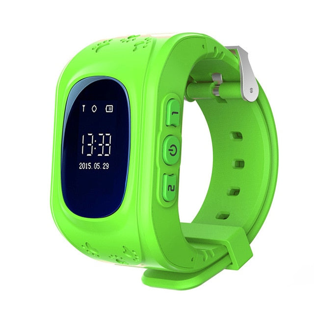 COXRY GPS Kids Watch Emergency SOS Bracelet Smart Watch Baby 2G Sim Phone Children Monitor Wristband Boys Girls Watches 2018