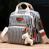 Multifunction Diaper Bag Backpack Mother Care Hobos Bags Baby Stroller Bags Nappy Backpack With Horse Mum Stroller Shoulder Bag