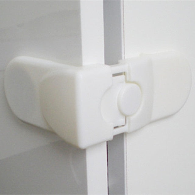 5PCS Drawer Lock for Children Safety Lock Baby Door Safety Buckle Prevent Open Drawer Cabinets Anti Pinch Hand Protect