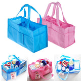 Portable Mommy Bag Bottle Storage Multifunctional Baby Bag Nappy Maternity Bag Handbag Baby Tote Diaper Organizer