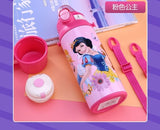 500ML Insulated Bottle Baby Cup Water Drinking Bottle Micky Minnie Thermos Flask Portable Child Feeding Cup Baby Travel School