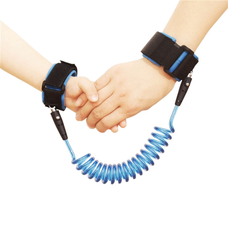Kids Anti Lost Wrist Link Toddlers Leash Safety Harness Baby Strap Rope Outdoor Walking Hand Belts Band Anti-lost Wristbands