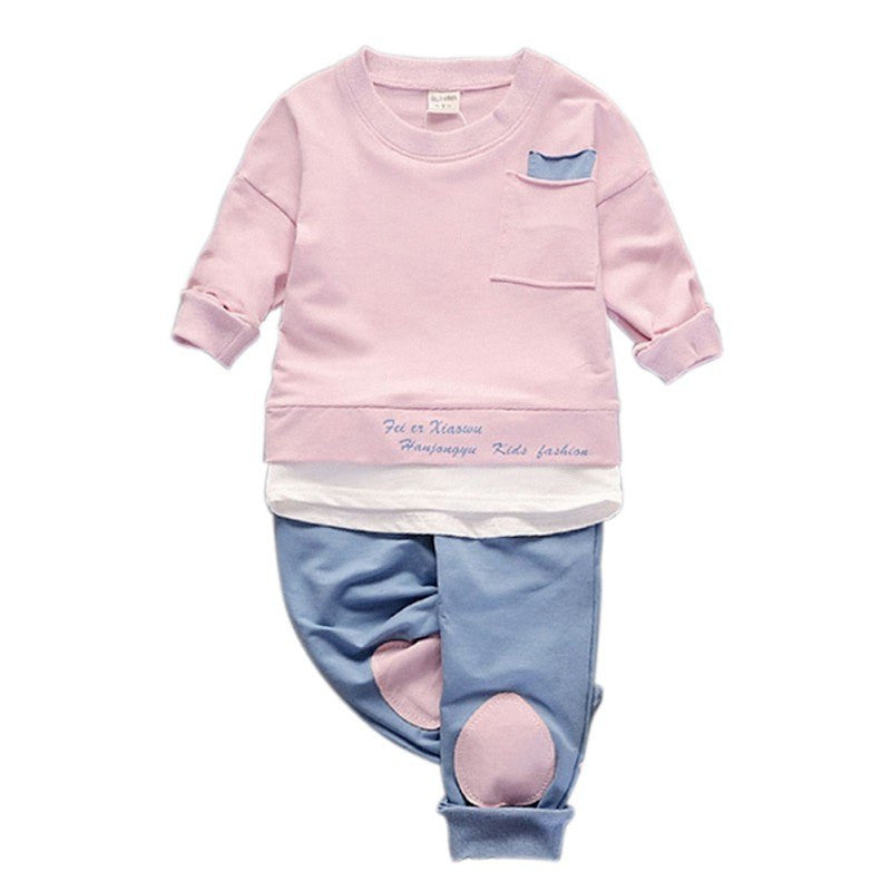 Toddler Baby Boys Clothes Long Sleeve Kids Boys Shirt Tops + Casual Pants Suits Clothing Outwear Sets