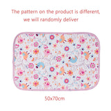 SUNVENO Newborn Baby Changing Pads Baby  Covers Pretty Nappy Changing Waterproof Cotton Cloth diaper Changing Mat For Crib