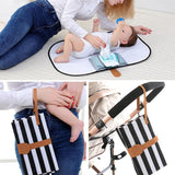 Portable Foldable Baby Diaper Changing Mat Waterproof Travel Floor Play Pad Waterproof Baby Floor Mat Change Play Mat