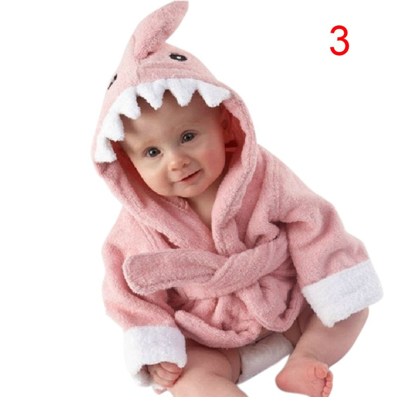 Animal Style Baby Winter Spring Autumn Clothing Boys Girls Robes Cartoon Bathrobe Sleepwear Robe