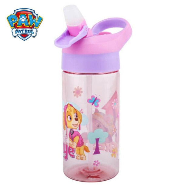 Genuine Paw Patrol Autospout 500ML kids Water tritan Bottle sucked cup skye everest ryder chase marshall Free boys kids toy gift