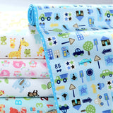 [Mumsbest] 3 Layers Baby Bamboo Changing Pads Newborn Baby Changing Pad For Infant Child Bed Waterproof Changing Mat For Crib