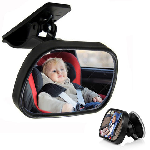 1Pcs Car Back Seat Baby View Mirror Safety Rear Ward Facing Car Interior Kids Monitor Safety Reverse Safety Seats Basket Mirror