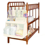 Baby Crib Children's Bed Hanging Bag Portable Waterproof Diapers Bedside Organizer Baby Bed Hanging bag Bedding Accessories