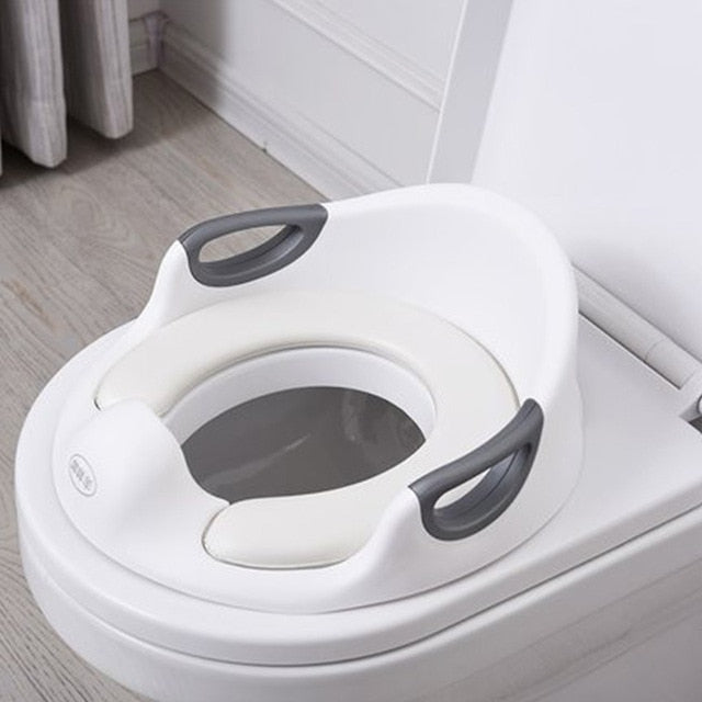 Child Multifunctional Potty Baby Travel Potty Training Seat Portable Toilet Ring Kid Urinal Comfortable Assistant Toilet Potties