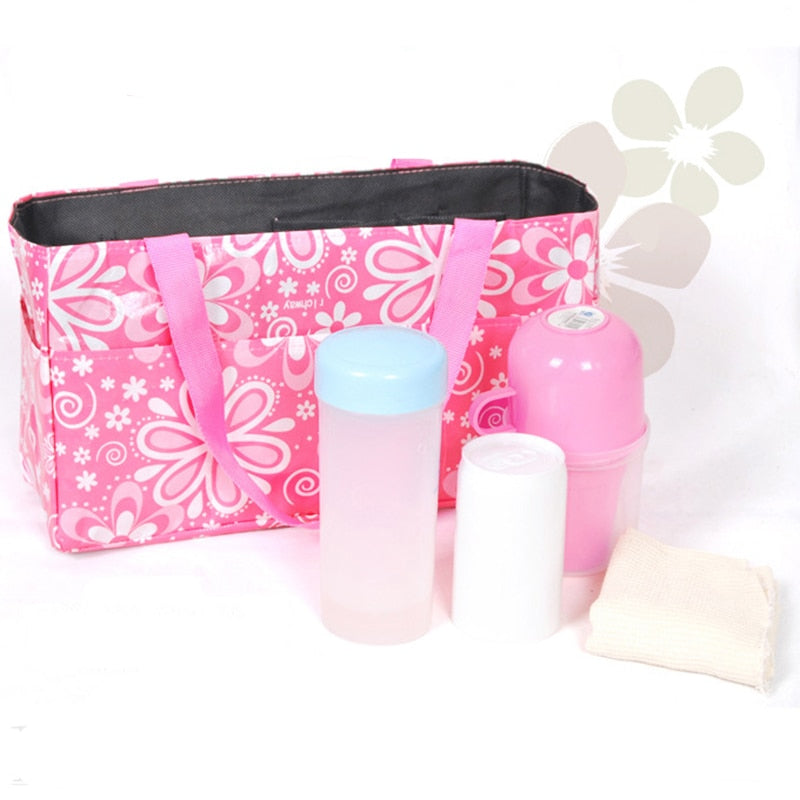 Portable Mommy Bag Bottle Storage Multifunctional Separate  Nappy Maternity Handbag Baby Tote Diaper Organizer YYT350