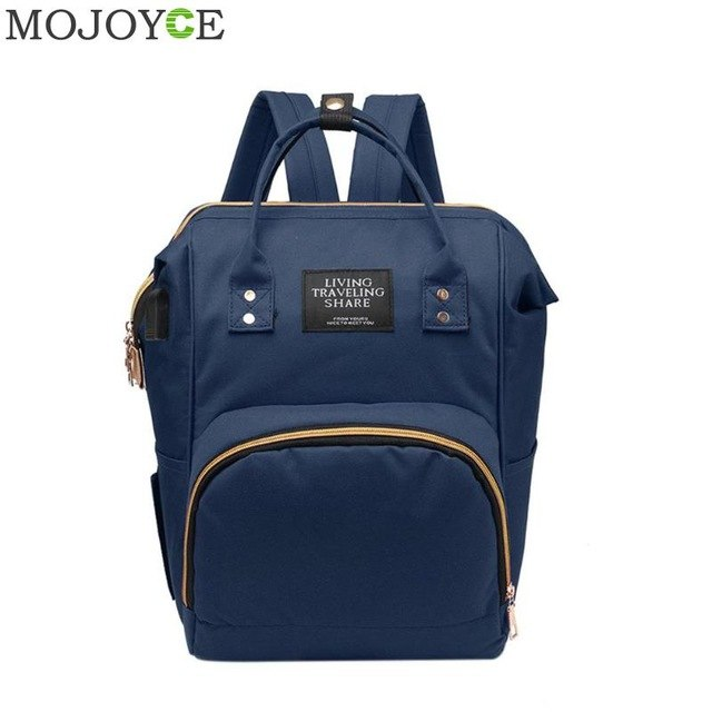 USB Charge Backpack Fashion Mummy Maternity Nappy Bag Large Capacity Travel Backpacks Desinger Nursing Bag for Baby Care Bags