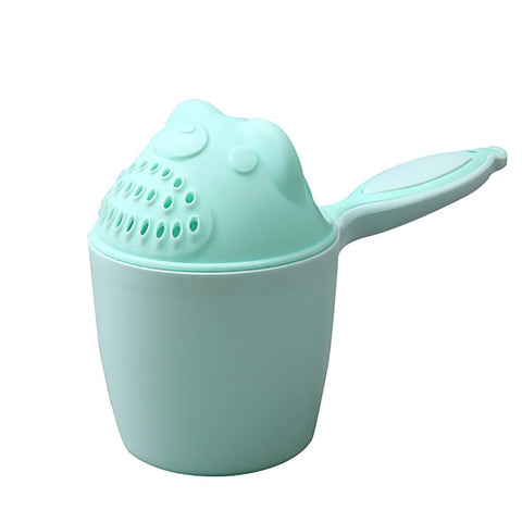 Baby Shampoo Cup Baby Spoon Shower Bath Water Bailer Bathing Helper Children Bath Accessories
